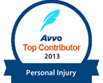 Top Contributor Personal Injury Attorney